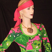Keram  Boho Hippie Chic Maxi Dress Vibrant Colors
