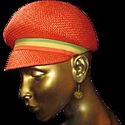 Mid Century 60's Mod Hat