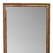 French Directoire Giltwood Mirror