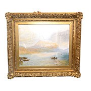 Oil on Canvas, English Harbor