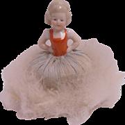 Down Powder Puff Half Doll