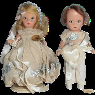 Flower Girl, Ring Bearer Dolls Nancy Ann