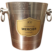 Champagne Mercier Epernay Vintage French Champagne Bucket