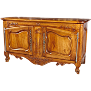 Grande 18th Century Walnut Wood Buffet Arlesian