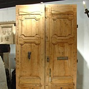 Period Antique Directoire Doors-Poplar Wood, Circa 1800