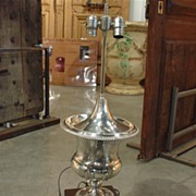 Antique Champagne Bucket Lamp