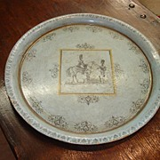 Antique French Tole Tray