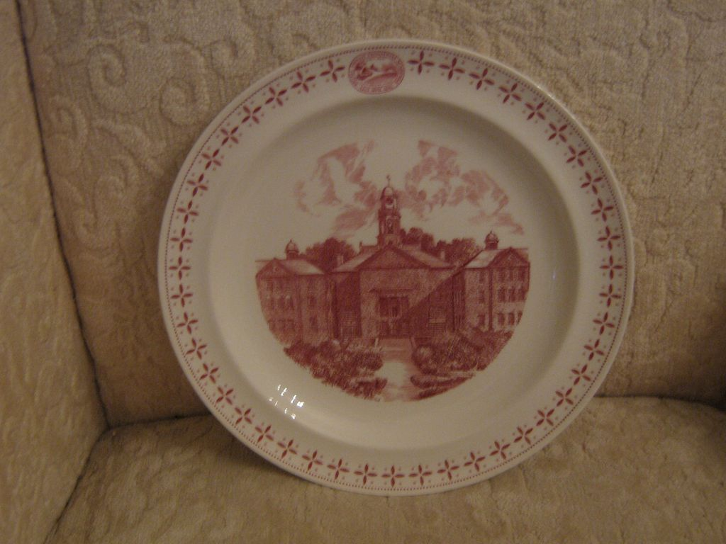 Phillips Exeter Academy 175th Anniversary Commemorative Plate ca: 1956