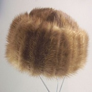 "SOLD Luxurious Vintage ""Marcelle Originals"" Mink Hat"