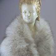 SOLD Vintage (Artic) Fox Fur Stole - Boa