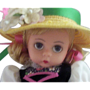 "SOLD 7"" Madame Alexander ""75th Anniversary"" Doll with Tag"