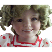"SOLD Doll Artist Susan Ann Wakeen's Shirley Temple ""Stand Up & Cheer"" Porcelain Doll"