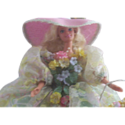 SOLD 1994 Limited Edition Spring Bouquet Barbie ~ Boxed ~ Enchanted Seasons