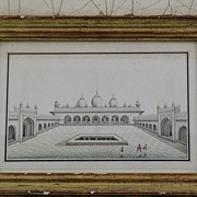 Company School Drawing Moti Masjid