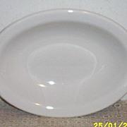 Homer Laughlin...Best China..White Oval Vegetable Serving Bowl