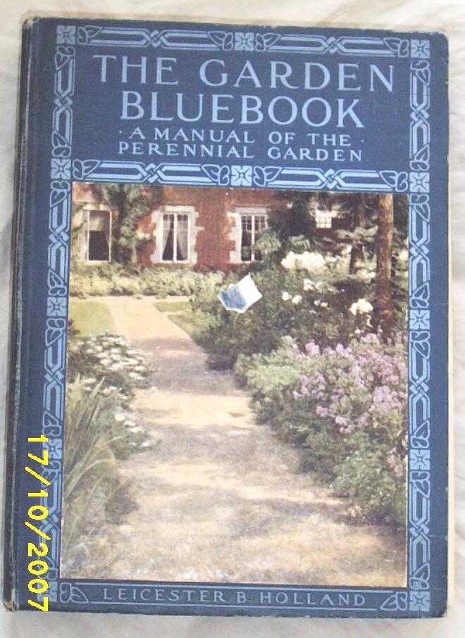 Item ID: BOOK GARDEN BLUEBOOK-2263 In Shop Backroom