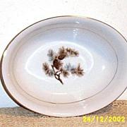 "Kyoto China Oval Vegetable Dish [10""]"