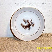 Kyoto China Of Japan Pine Cone Bread/Butter Plates [12]