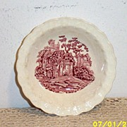 Pink Castle Transferware Berry Bowls [5]