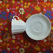 Royal Grafton White Bone China Fluted & Scalloped Edges & Gold Trim..England..Minty..2 Sets Of