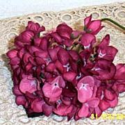 Rose-Pink Hydrangea Millinery Flowers