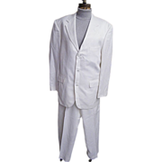 SALE Men's White Moygashel Linen Suit..Philippines..