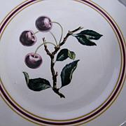"Syracuse..Restaurant China CHERRY BRANCH Dinner Plates..10.5""..Border & Scalloped Edges.."