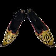 Wardrobe From NYC Opera HAROUN...Maharajah Shoes...Men's Size 12W
