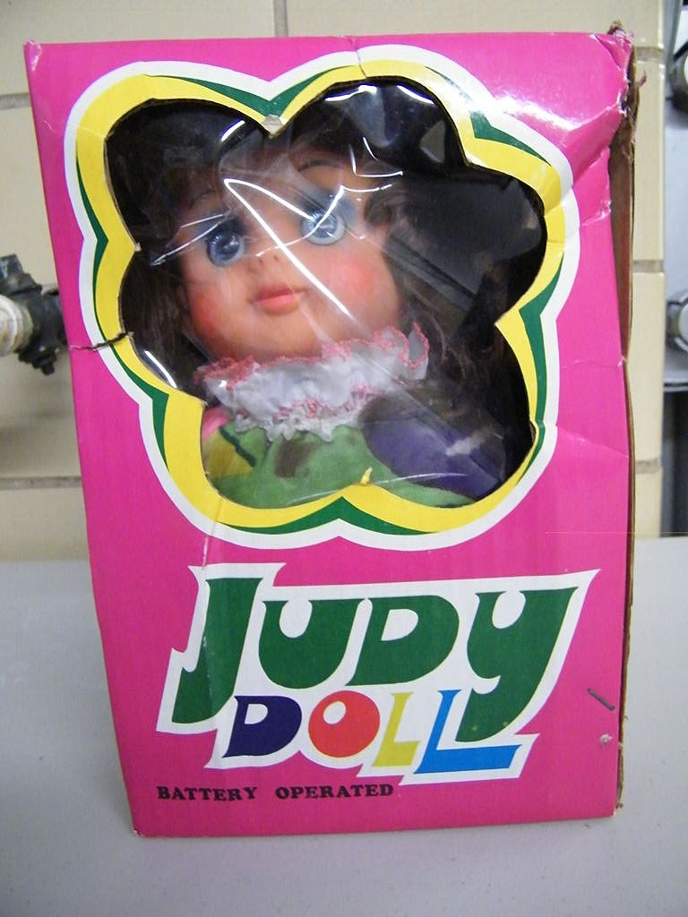 Vintage 1970's JUDY Doll..Battery Operated..NIB..Baby Doll