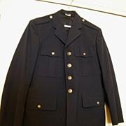 SALE Vintage US AIR FORCE Dress Jacket..Blue  Wool...Size 40R..Excellent Vintage Condition
