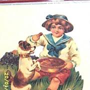 Rocking Nursery Rhyme Greeting Card And Envelope Diecut Embossed High Gloss