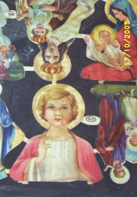 Victorian Paper Religious Assortment Of 10 Stickers..MP # 900.. Made in England...Never Used