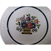 Wedgwood Etruria Flora Pattern..Numbered..August 1, 1922 Patent..Set Of 4