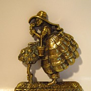 Bexhill Lady Brass Hook....