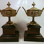 Late 19Th Century Bronze Garniture.....