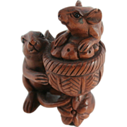 Hand Carved Netsuke....
