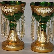 Bohemian Glass Lustres...