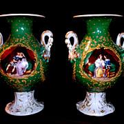 Old Paris Vases...
