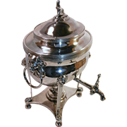 Early 19Th Century Sheffield Plate HOT Water Urn...