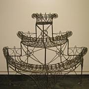 19th Century Wire Planter....