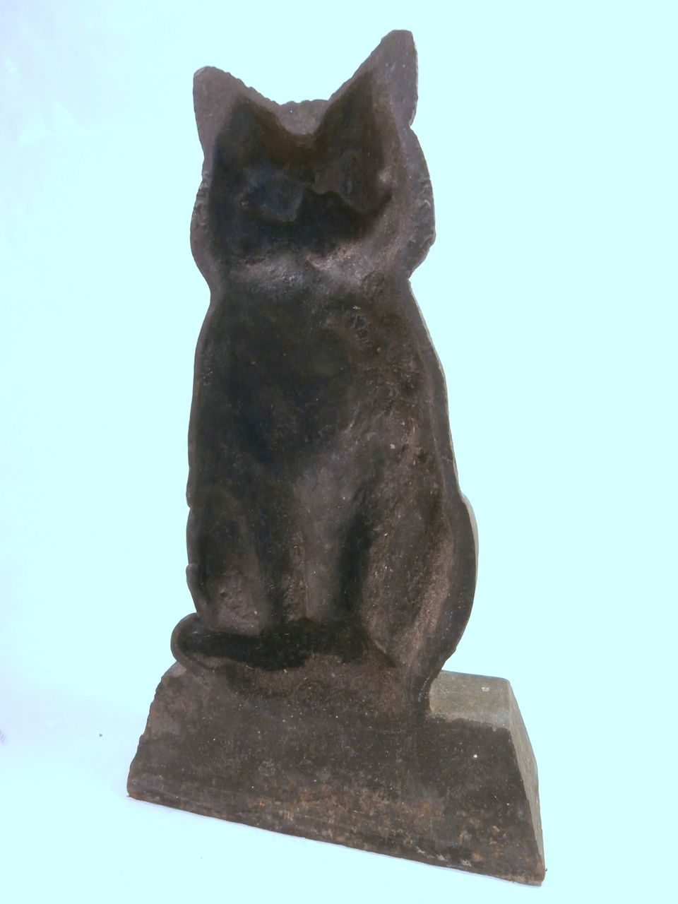 Cast iron cat doorstop from litchfieldantiques on ruby lane - Cast iron cat doorstop ...