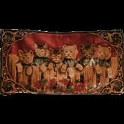 1930'S Cat Tapestry...