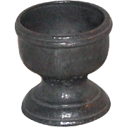 SOLD Vintage metal water goblet for doll