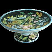 Giacomini Ceramic Compote, Orvieto, Italy – mid 20th Century