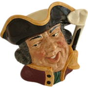 Large Royal Doulton Character Toby Jug, Town Crier, D6530