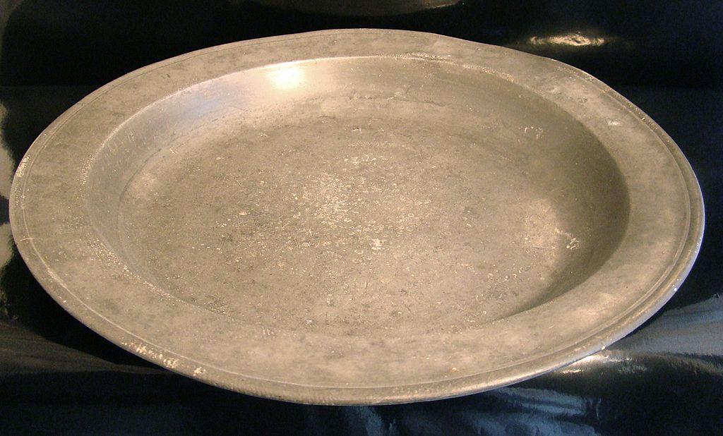 Pewter Basin - 14 3/4 Inches Diameter 19th Century
