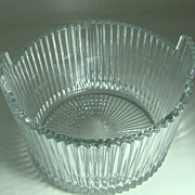 Heisey Glass No. 1469 Ridgeleigh Pattern Ice Bucket 1935 - 1944