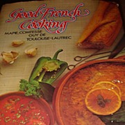 SALE 1966/1978 Hardback Cookbook Good French Cooking by Mapie