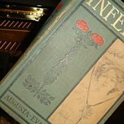 SALE 1875 Hardback Book INFELICE Novel by Augusta..Evans..Wilson Illustrated Davis