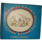 1966 First Edition Charlie Brown's All Stars Hardback Children's Book